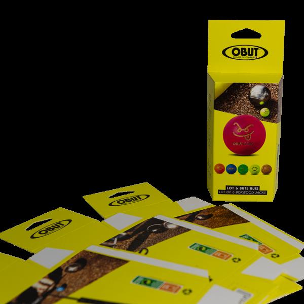 """Etui carton """"Obut"""" par Dailypack, fabricant d'emballage carton personnalisé"""